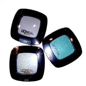 NWT Loreal Paris Colour Riche Eyeshadow Bundle